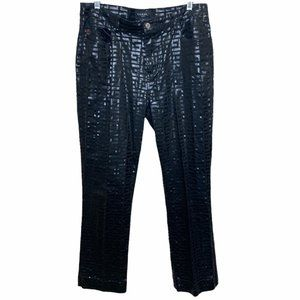 Guess Jeans Glamour High Rise Pants Size 32 Black